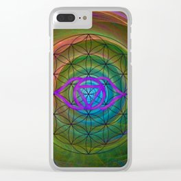 3rd Eye Clear iPhone Case