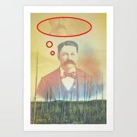 Always about you Art Print