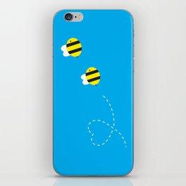 Bee in Love iPhone Skin
