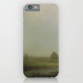 Jersey Marshes 1874 By Martin Johnson Heade | Reproduction iPhone Case