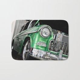 Green Car Bath Mat