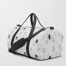 Holiday winter deer Duffle Bag