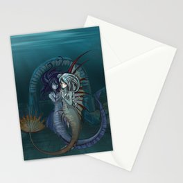 Fantasy style Anime / Manga mermaids Stationery Cards