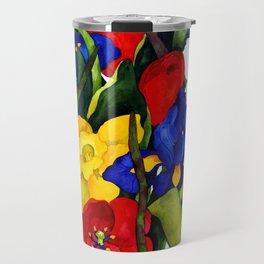 Floral Multiplication Travel Mug