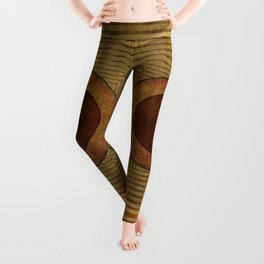 """Golden Circle Japanese Vintage"" Leggings"