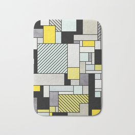 Colorful random pattern Bath Mat