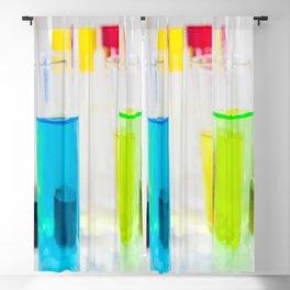 Laboratory chemical liquid elements  Blackout Curtain