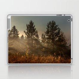 Autumn sun beam Laptop & iPad Skin