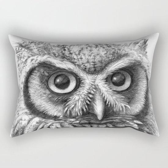 Intense Owl G137 Rectangular Pillow