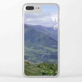 Tough of nature Clear iPhone Case