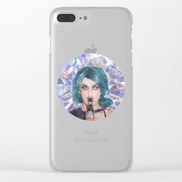 Adore Del Beero Clear iPhone Case