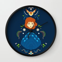 Wind Valley Wall Clock