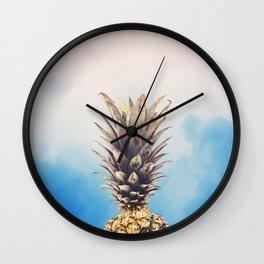 Pine Head Wall Clock