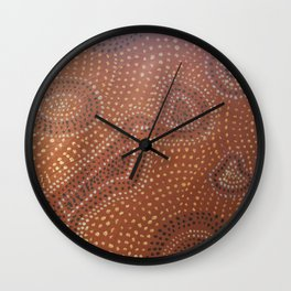 Woman in Universe of Choices Wall Clock