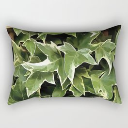 Variegated Ivy Rectangular Pillow