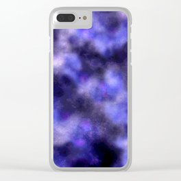 Stormy Clear iPhone Case