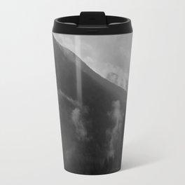 North Cascades B&W 2 Travel Mug