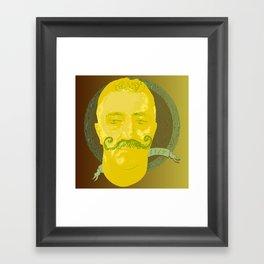 Vintage portrait Framed Art Print