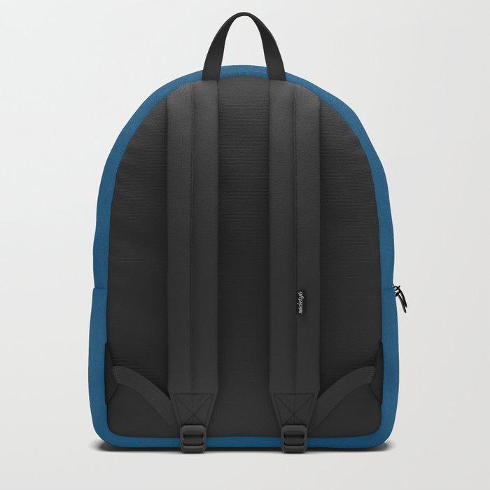 Saltwater Taffy Teal Watercolor Backpack