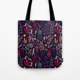 Botanical pattern Tote Bag
