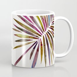 Tropical Fan Palm – Vintage Palette Coffee Mug