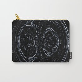 Black Wheel Carry-All Pouch
