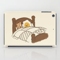bed iPad Cases featuring Breakfast In Bed  by Terry Fan
