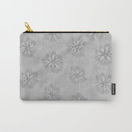 Stone Petal Rose Carry-All Pouch