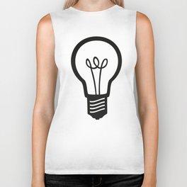 Simple Light Bulb Biker Tank