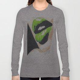 Green Kiss Long Sleeve T-shirt