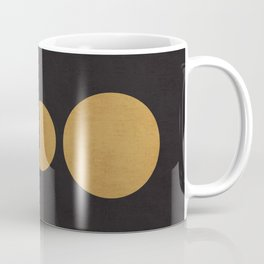 Rise of the golden moon Coffee Mug