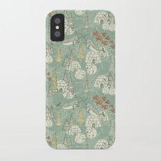 arctic retro iPhone X Slim Case