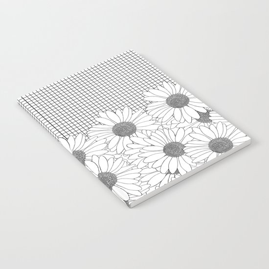 Daisy Grid Notebook