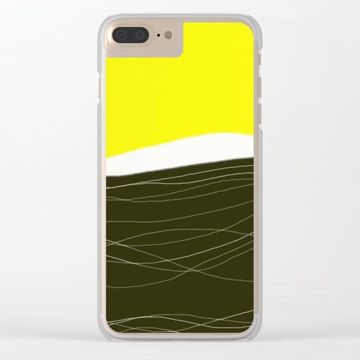 sunrise - design57 Clear iPhone Case