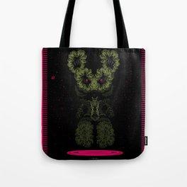 Alien Wabbit Tote Bag