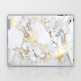 Original Gold Marble Laptop & iPad Skin