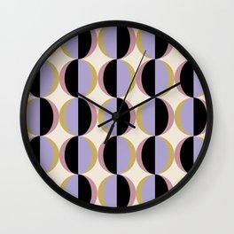 Mod Circle Abstract Pattern I Wall Clock