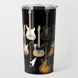 You Can Never Have Too Many Guitars! Travel Mug