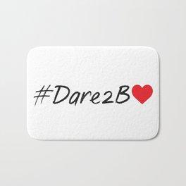 #Dare2BLove Bath Mat