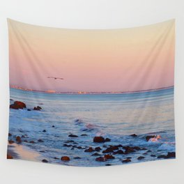 Gliding in Twilight Wall Tapestry
