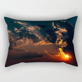 Smoke Equals Unbelievable Sunset Rectangular Pillow