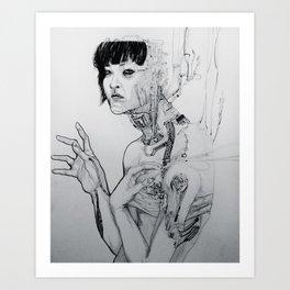Cyberpunk Self Art Print