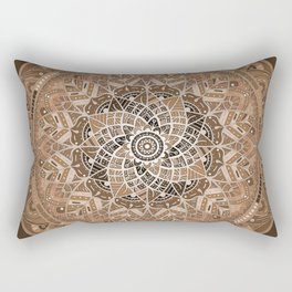 Terra Mandala Rectangular Pillow