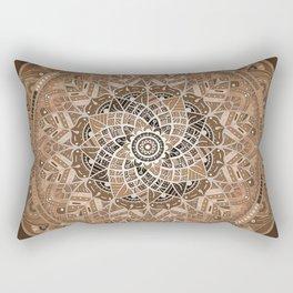 Terra Mandala Rectangular Pillow