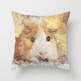 Mapified - Guinea Pig Throw Pillow