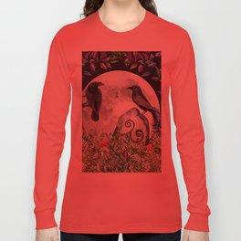Raven Moon Magick Long Sleeve T-shirt