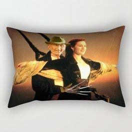 Freddie Krueger as Jack Dawson Rectangular Pillow