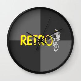 Retro Bike Wall Clock