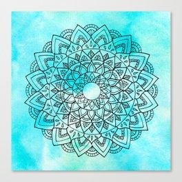 Sea Mandala Canvas Print