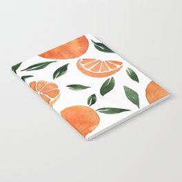Summer oranges Notebook